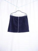 Halima velvet skirt