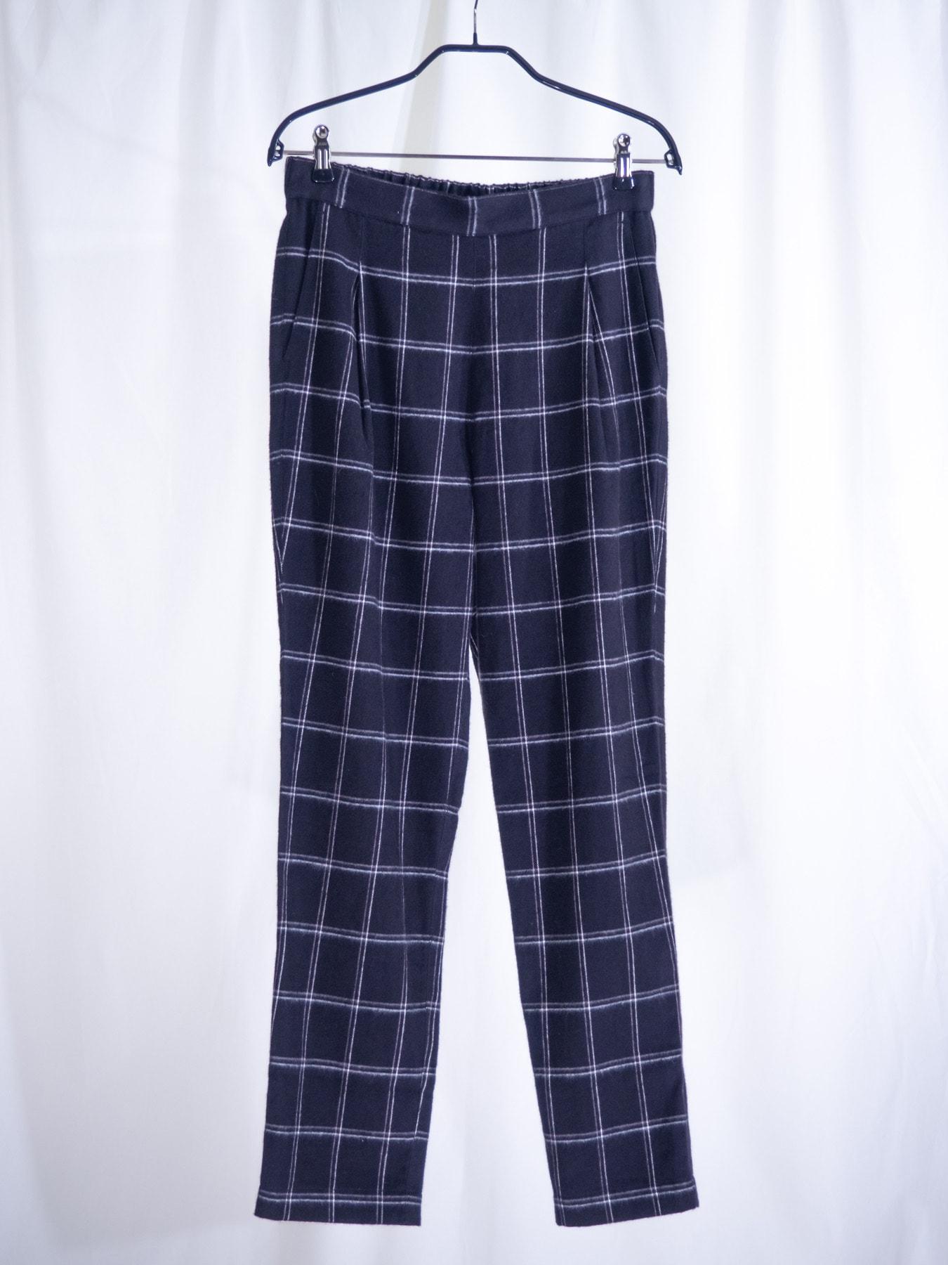Reiko check trousers