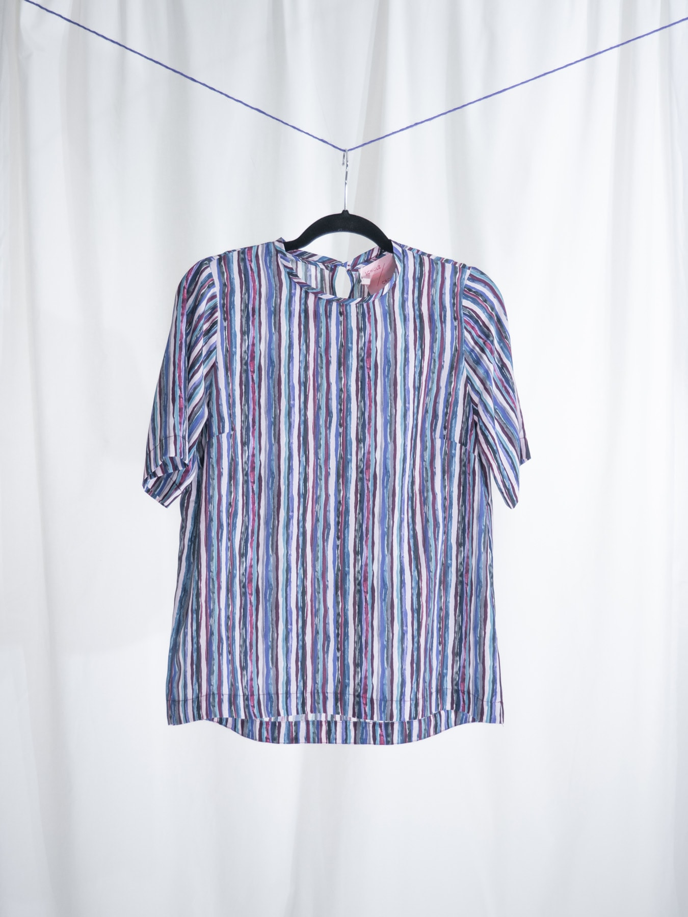 Tekla tee ripped stripes