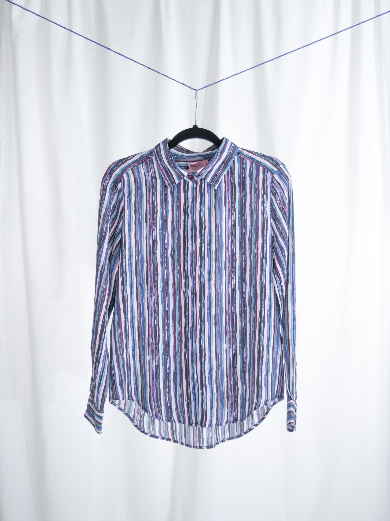 Sally shirt ripped stripes