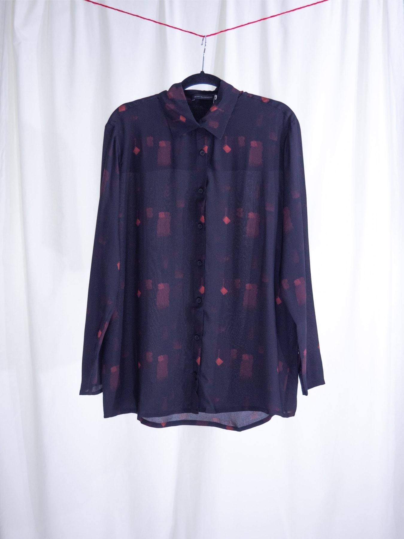 Strokes silk shirt