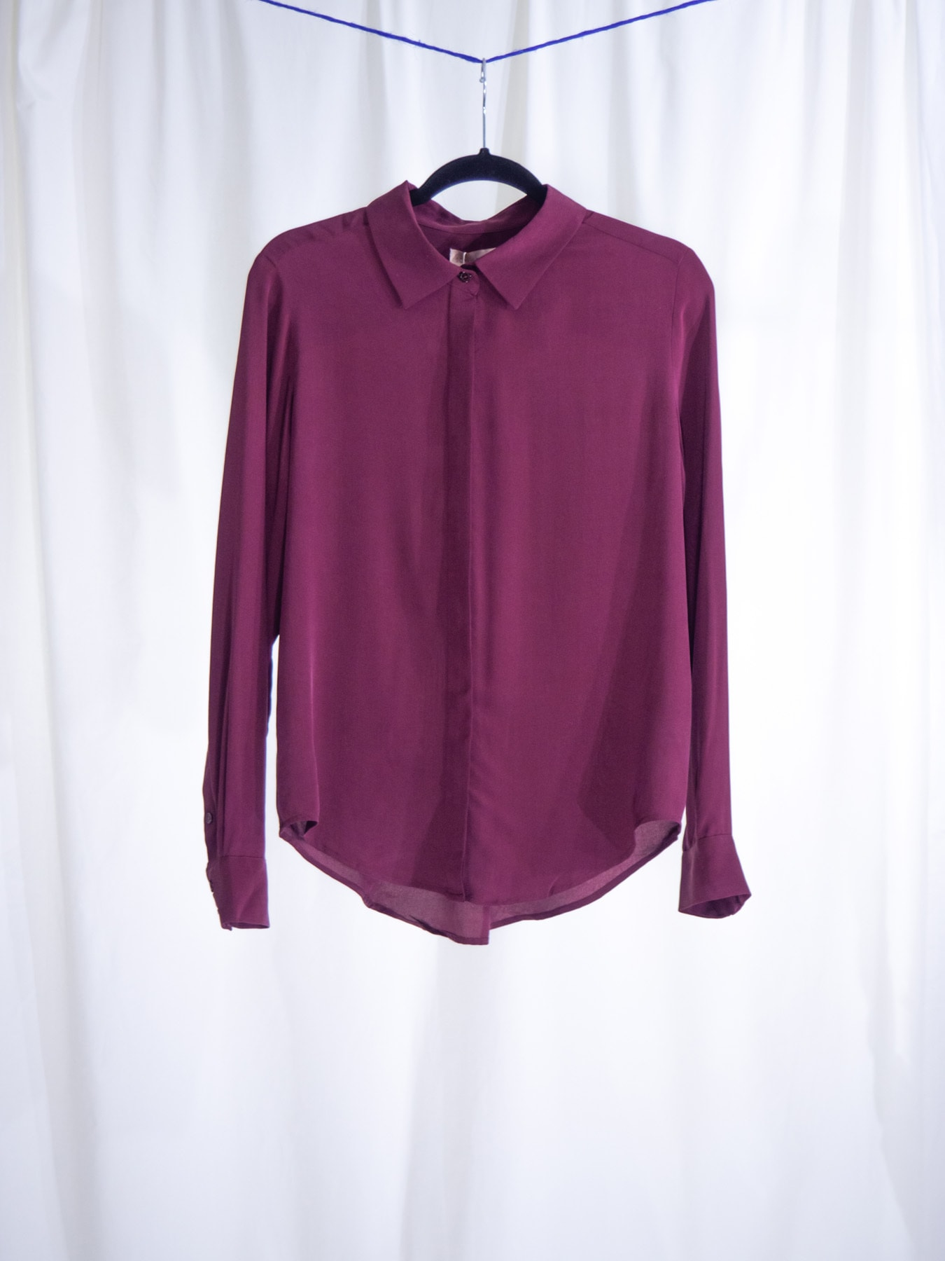 Sally shirt burgundy