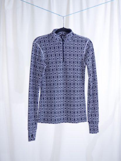 Anne blouse w/zipper