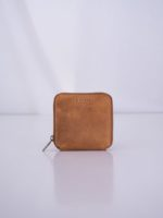 Sonny square wallet – eco camel