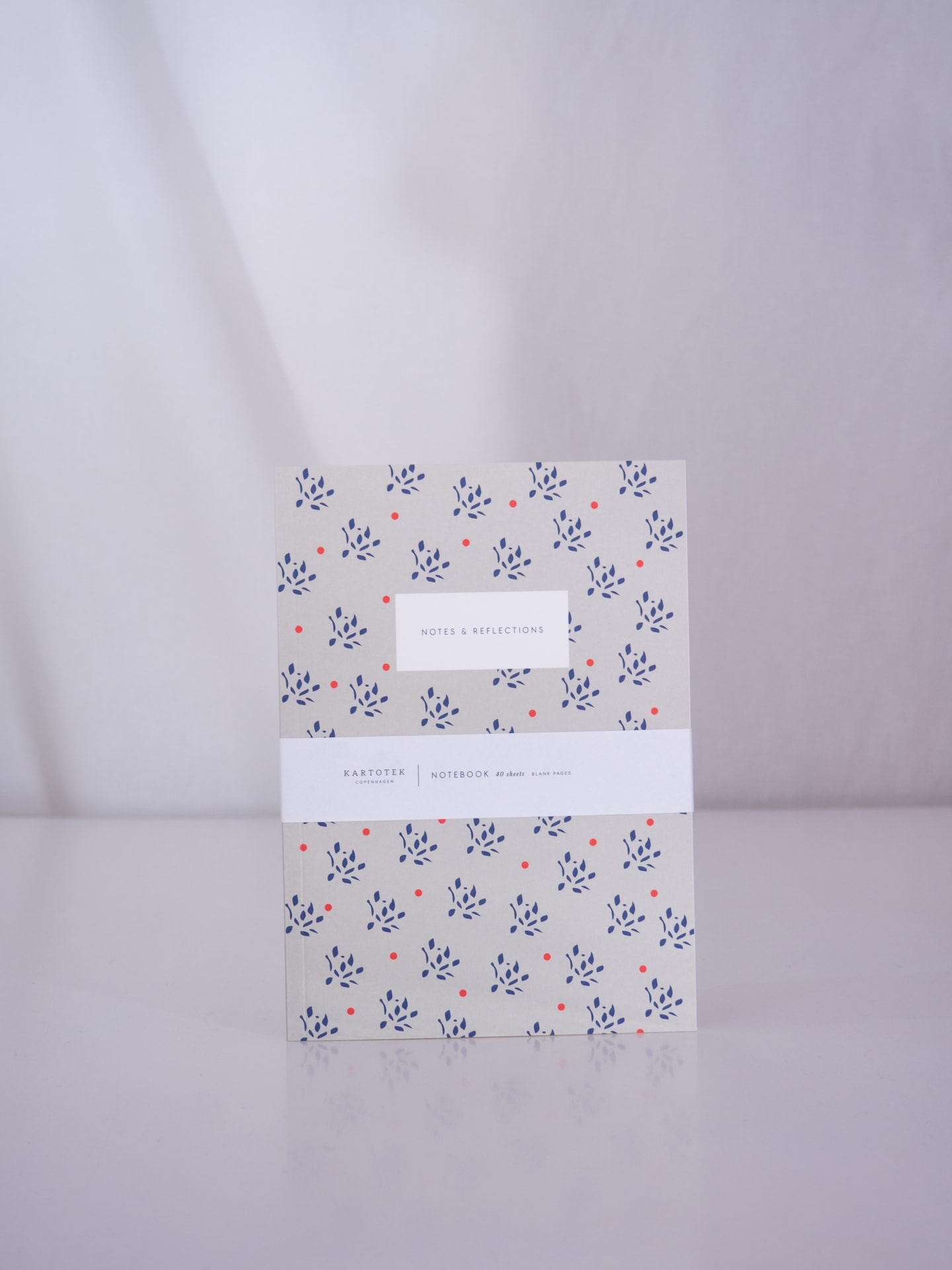 Floral sand notebook small