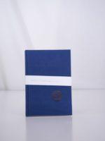 Hardcover notebook navy