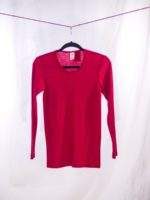 Long sleeved shirt red