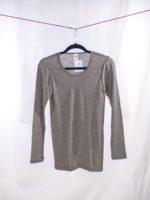 Long sleeved shirt brown