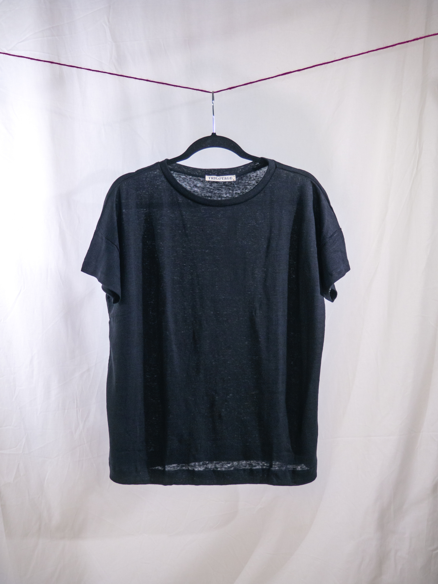 Luca T-shirt black