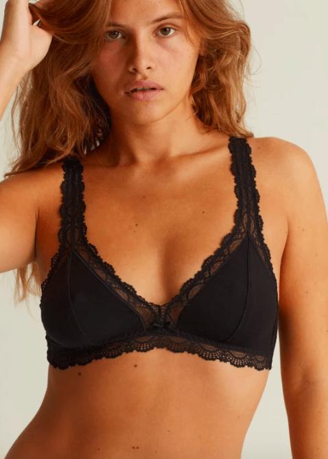 Onyx soft-bra black