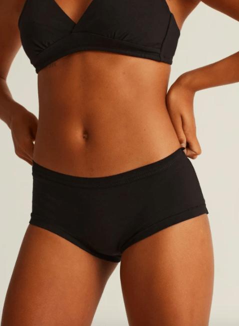 Brief core panties black