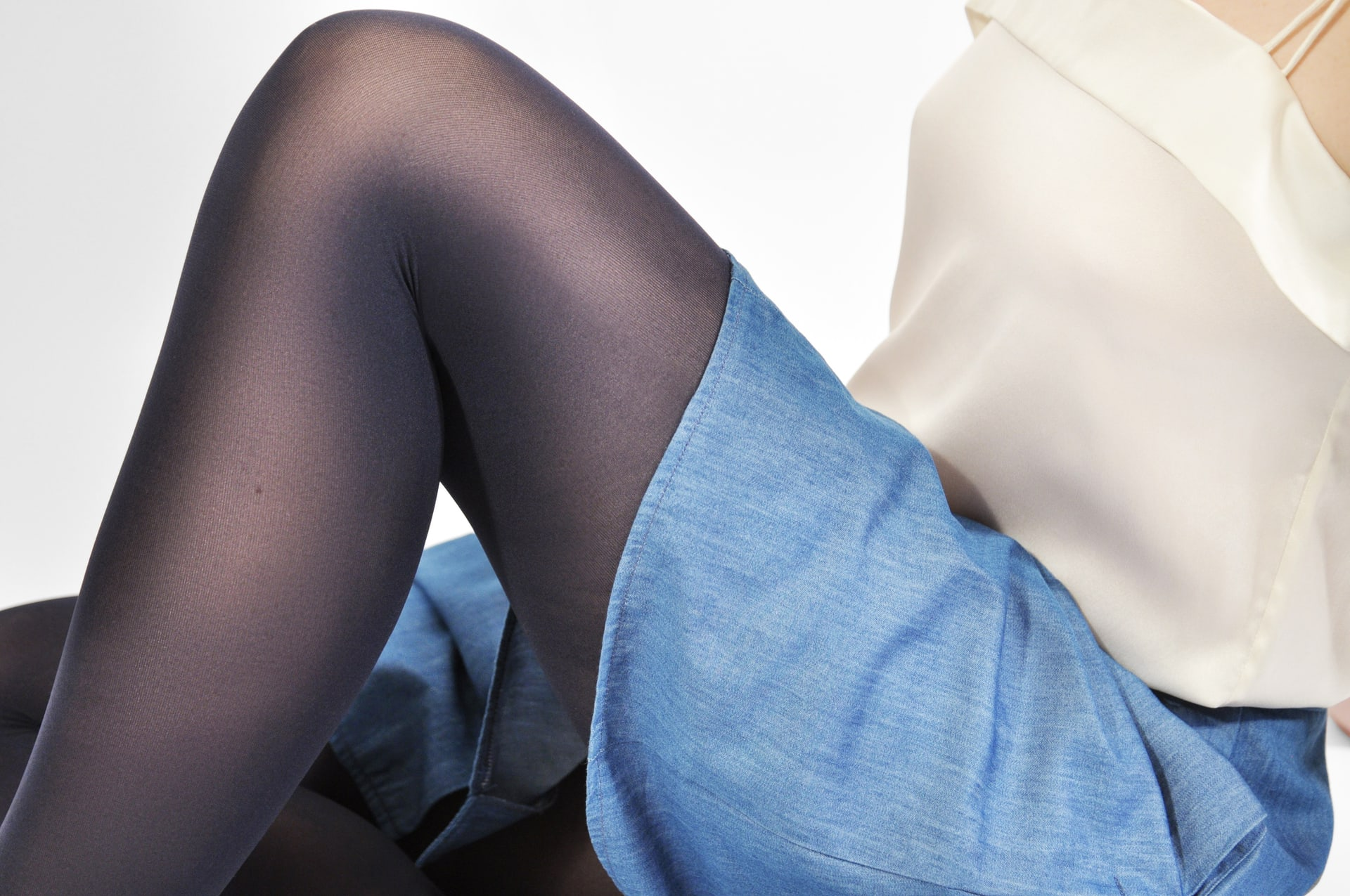 Olivia premium tights navy