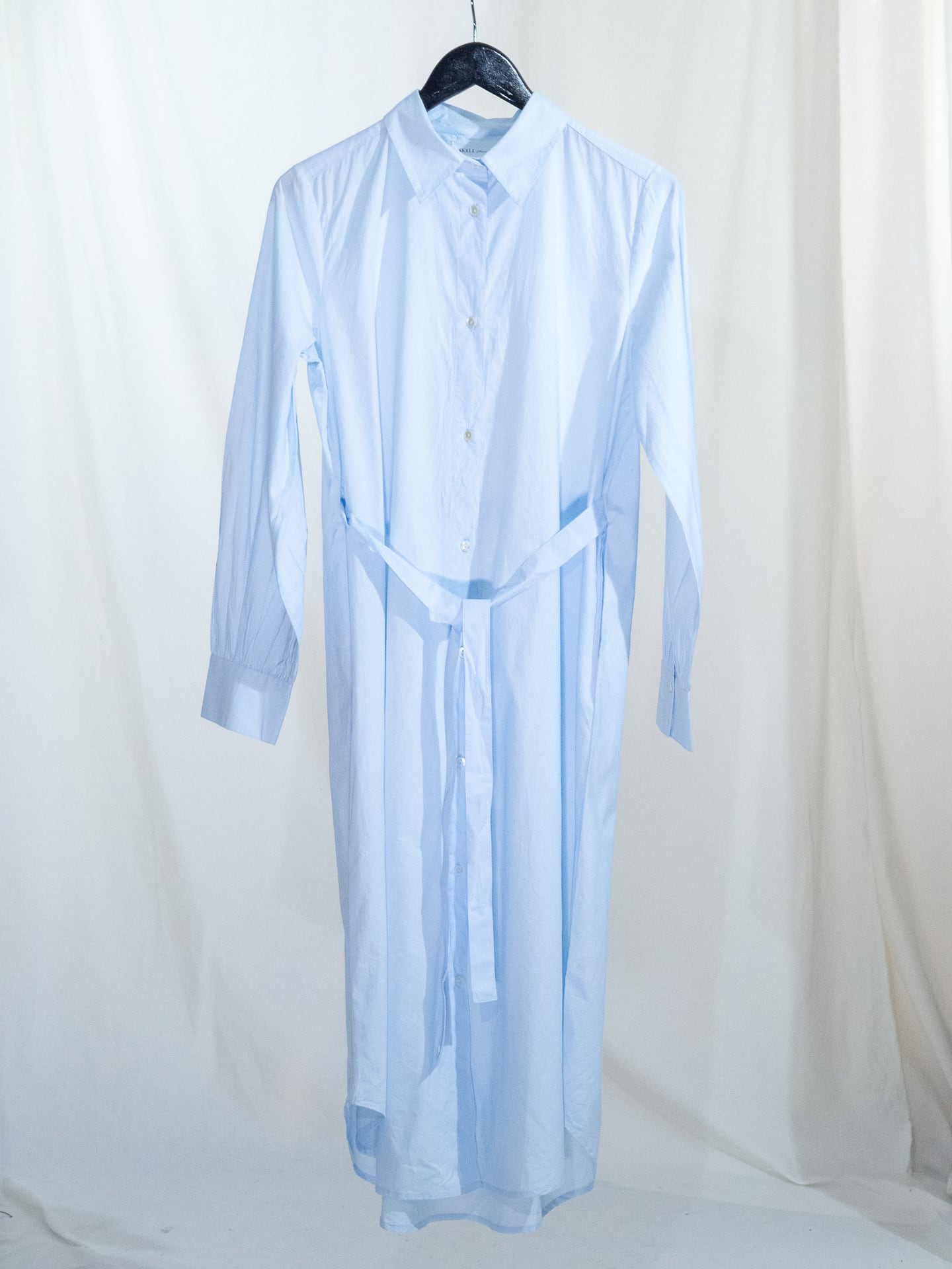 Rose shirtdress light blue