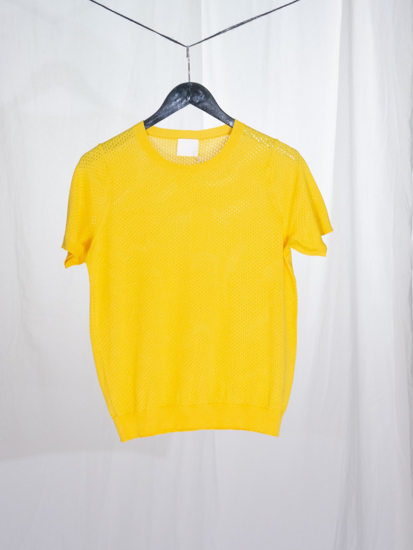 Pointelle T-Shirt yellow