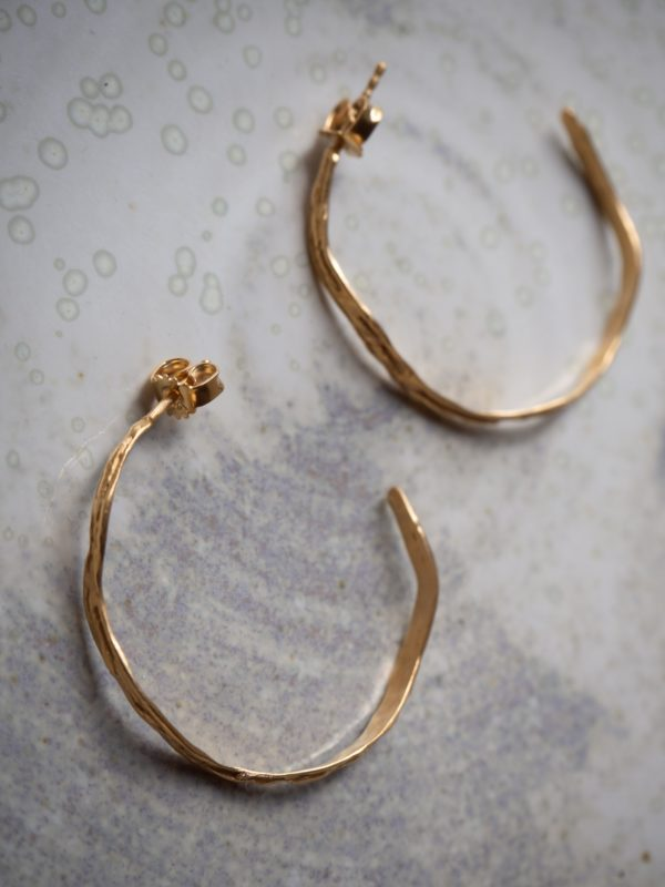 Oh my darling gold hoops