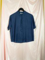 Tona peacesilk-cotton blouse