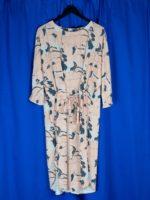 La printed dress
