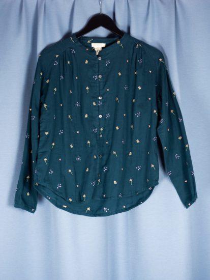 Guaze shirt atlanticembroid