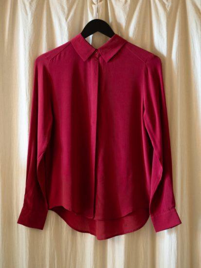 Split shirt rumba red