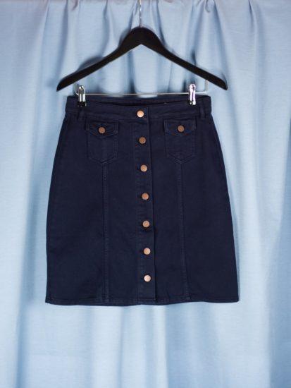 Francine twill skirt