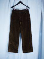Ira straight cord trousers
