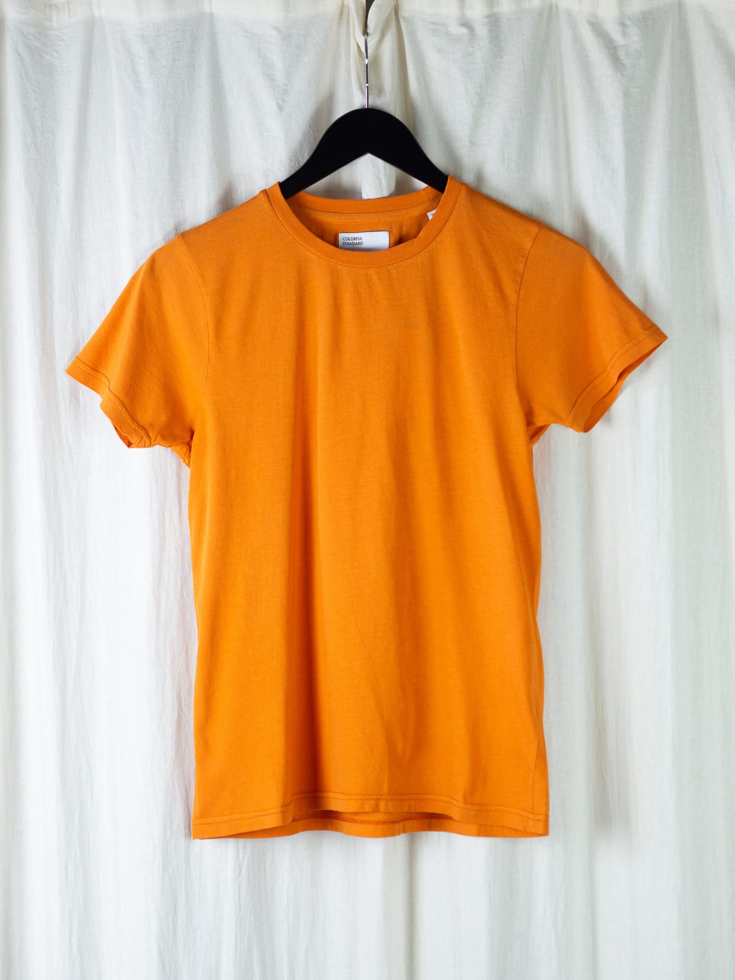 Women light organic tee – burned orange