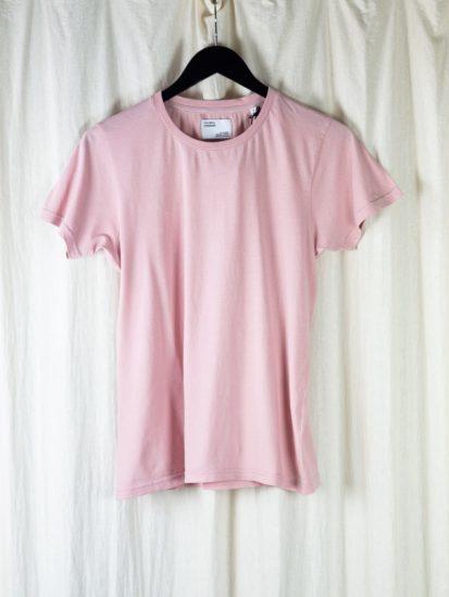 Women light organic tee - faded pink