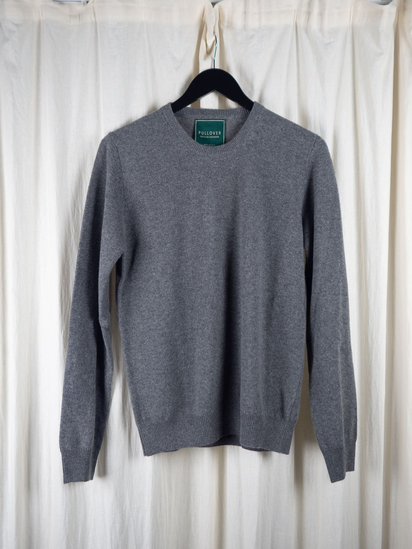Cashmere strik grey