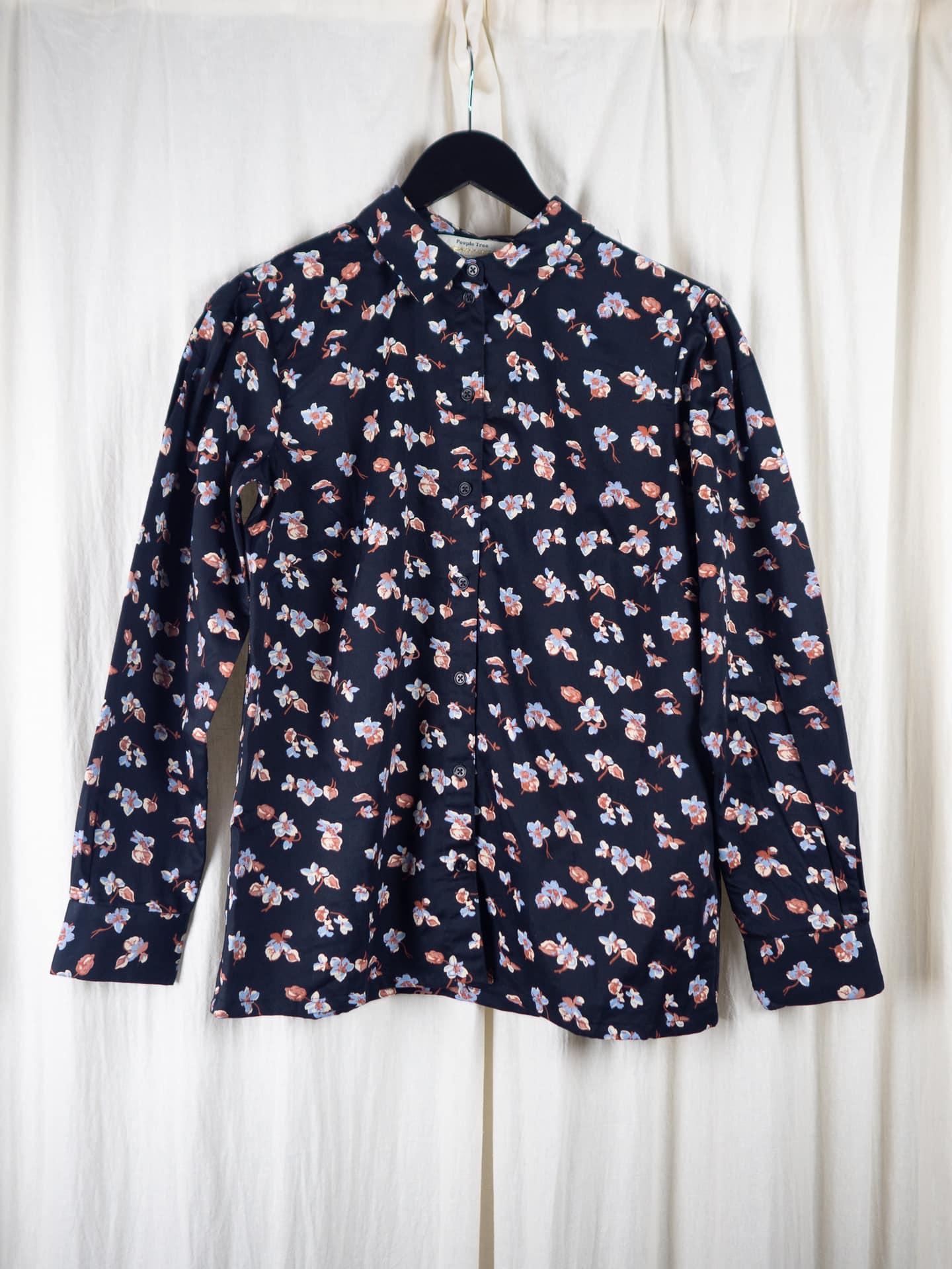 Edie floral shirt