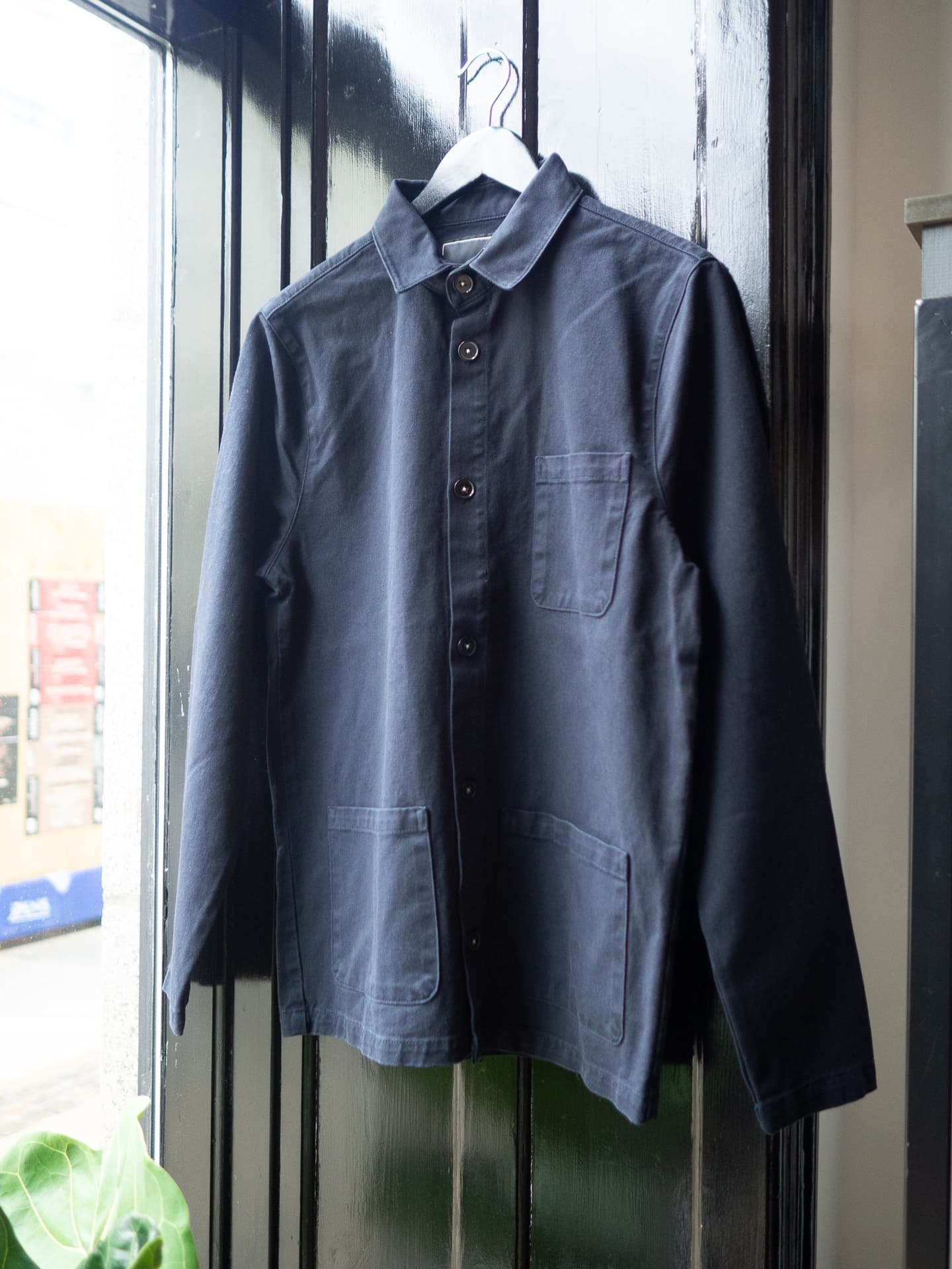 Worker jacket navy