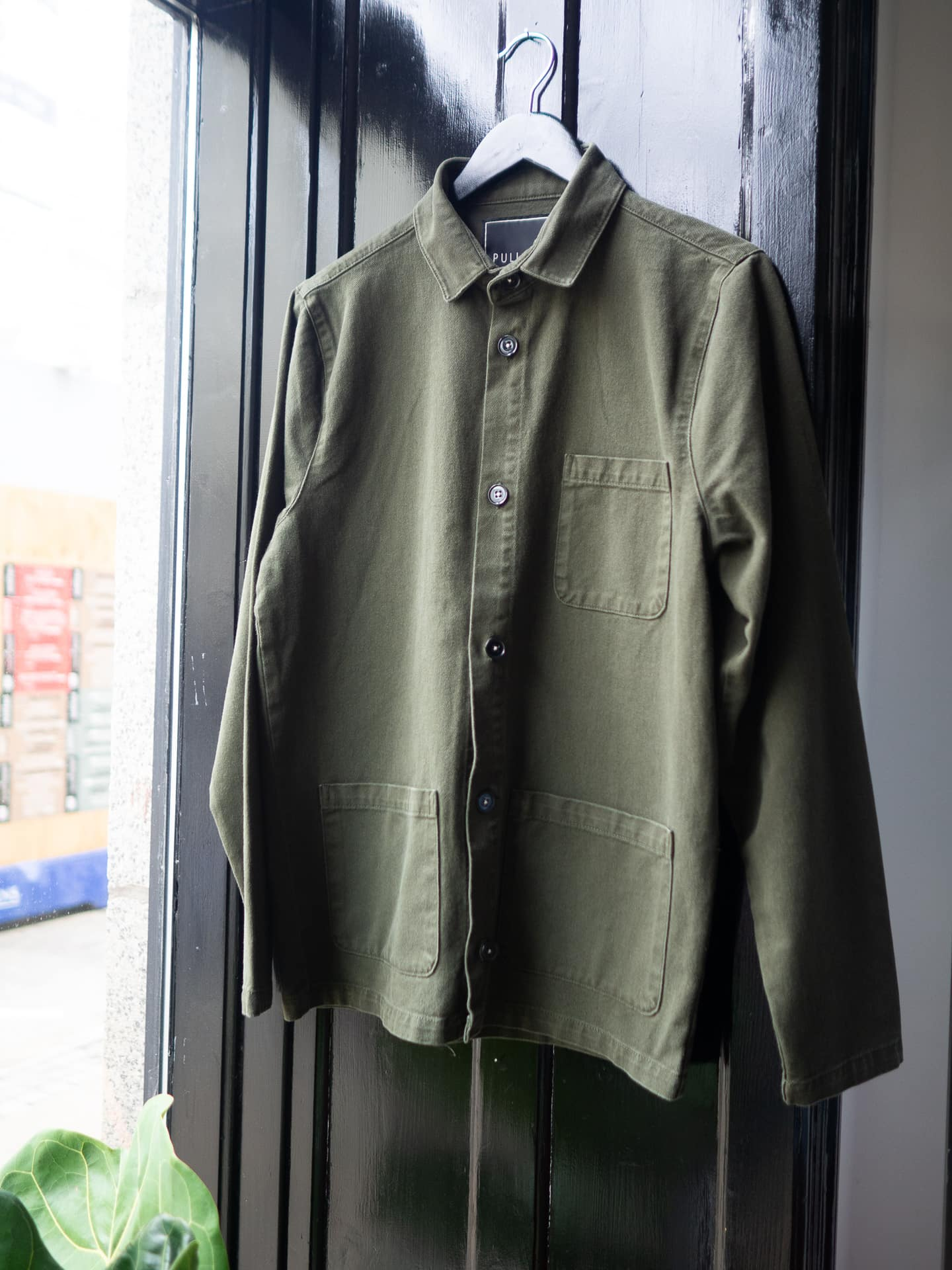 Worker jacket green
