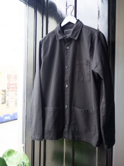 Worker jacket black