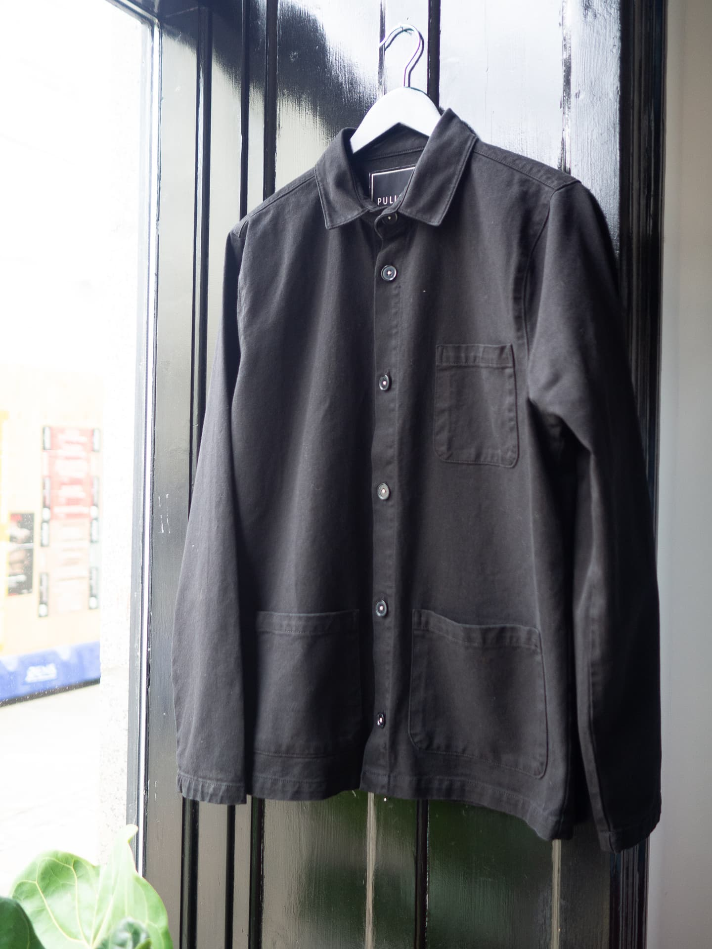 Worker jacket black
