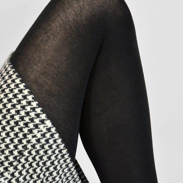 Alice premium cashmere tights black
