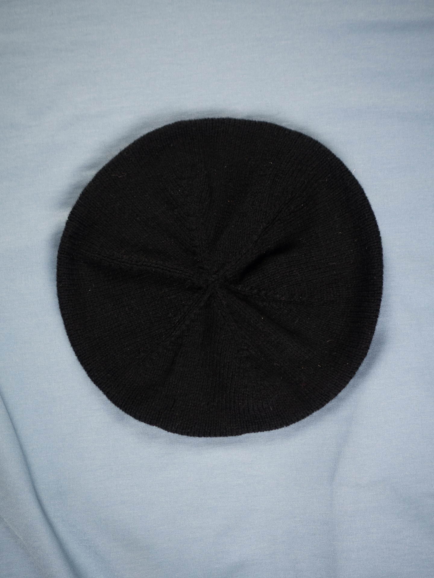 Merino beret black