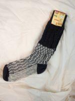 Wool socks grey/white