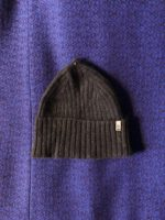 Yak fitted rib hat – dark brown