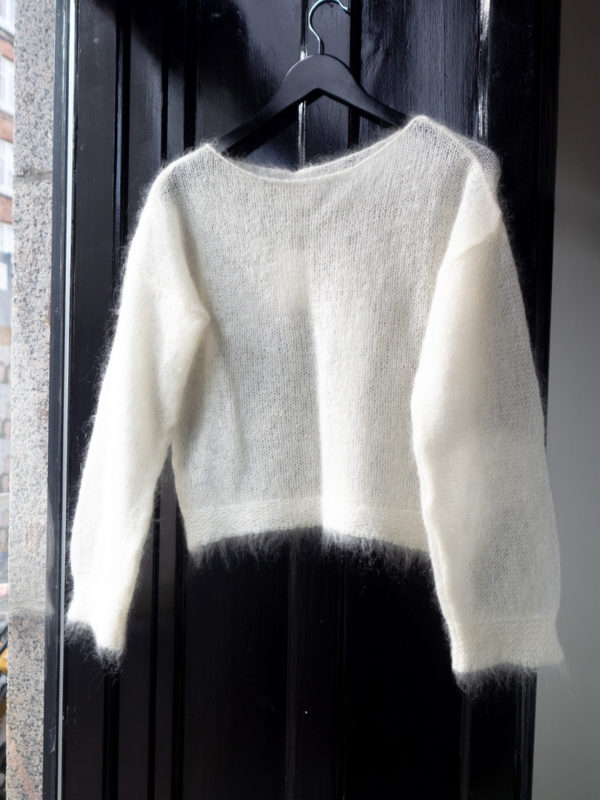 Joan Airy silk mohair sweater