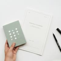 Pocket notebook grey