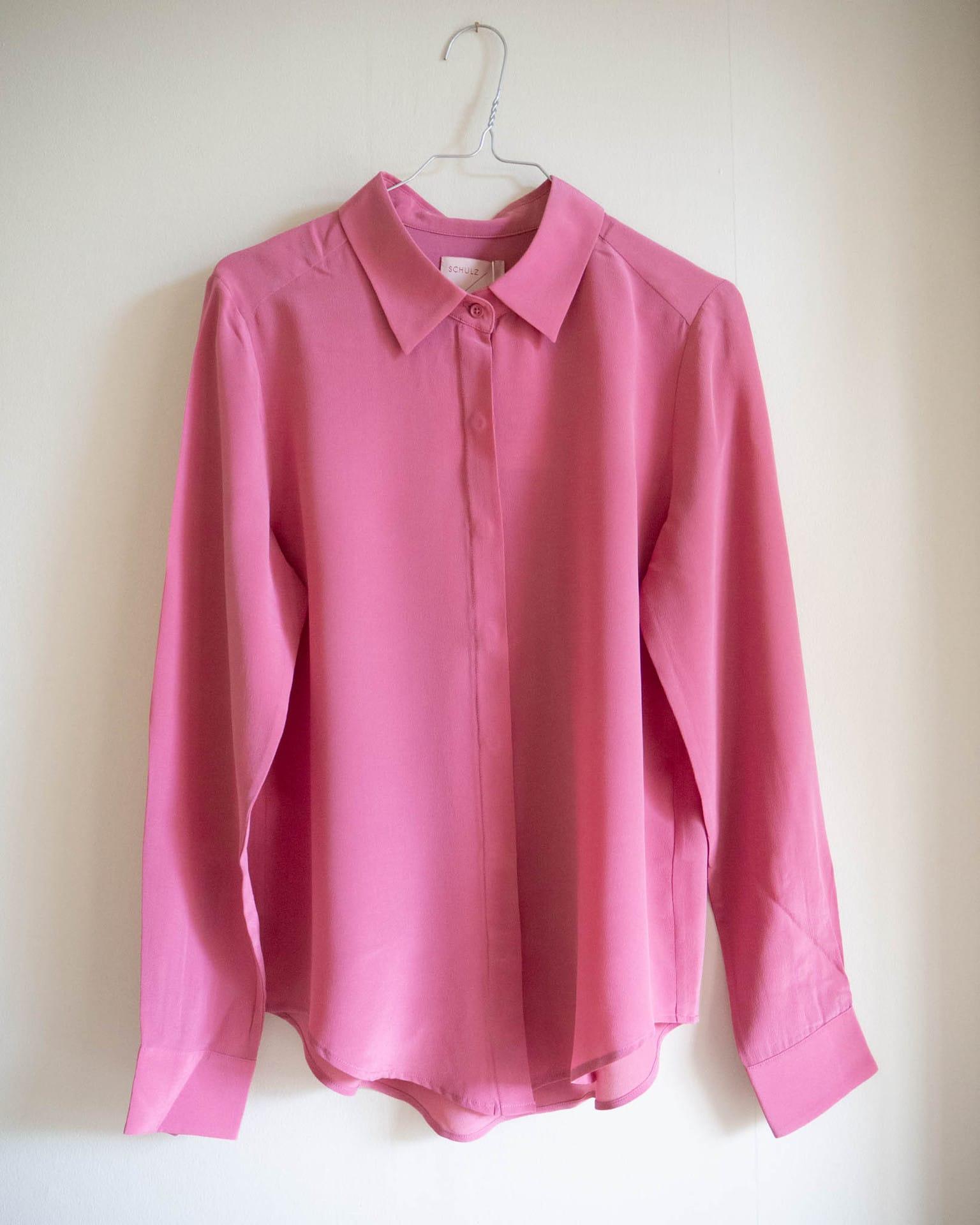 split shirt mauve