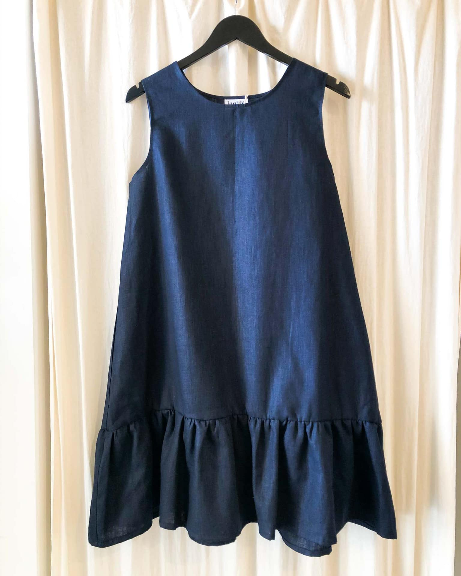 maddy dress navy