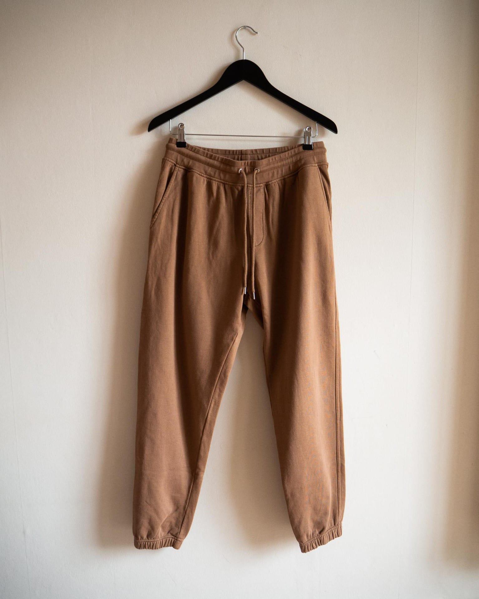 Classic organic sweatpants sahara camel