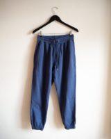 Classic organic sweatpants petrol blue