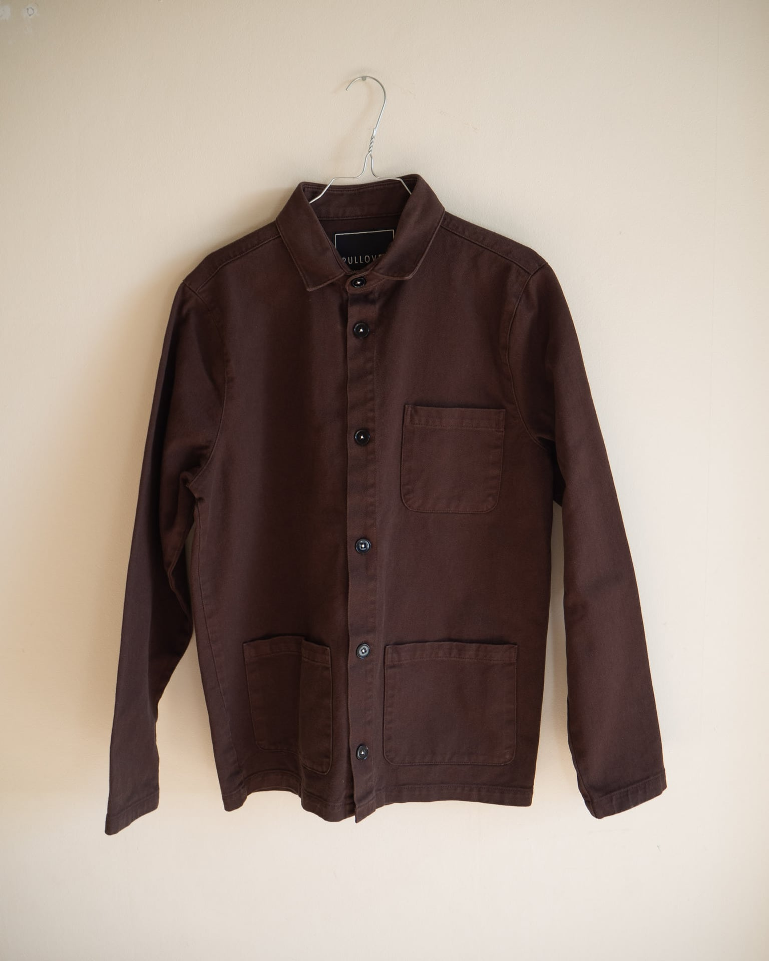 worker jacket brown