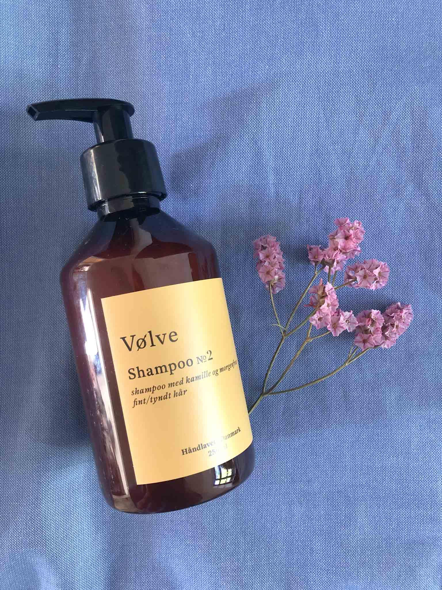 Shampoo No.2 med kamille og morgenfrue
