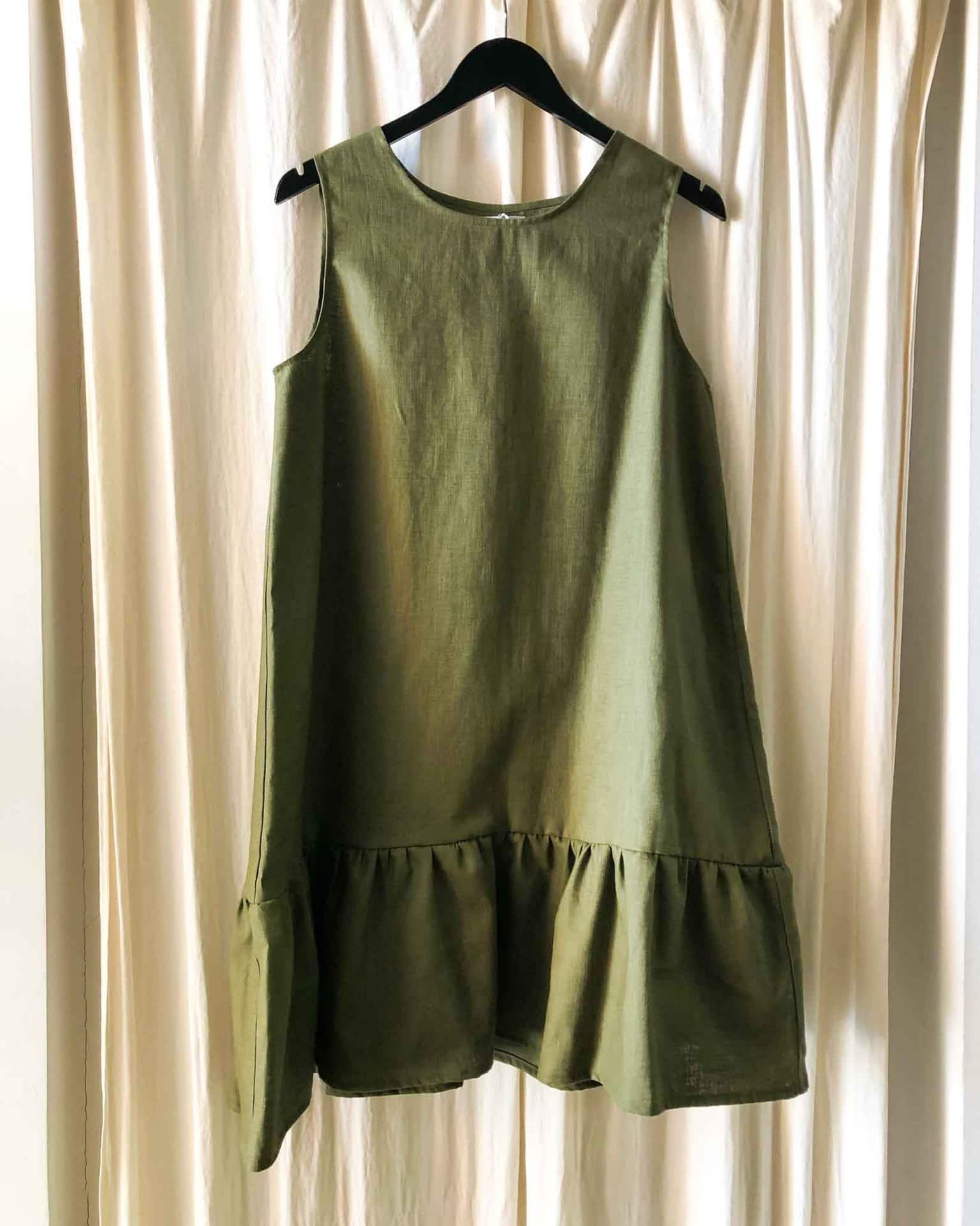 Mandy dress Khaki