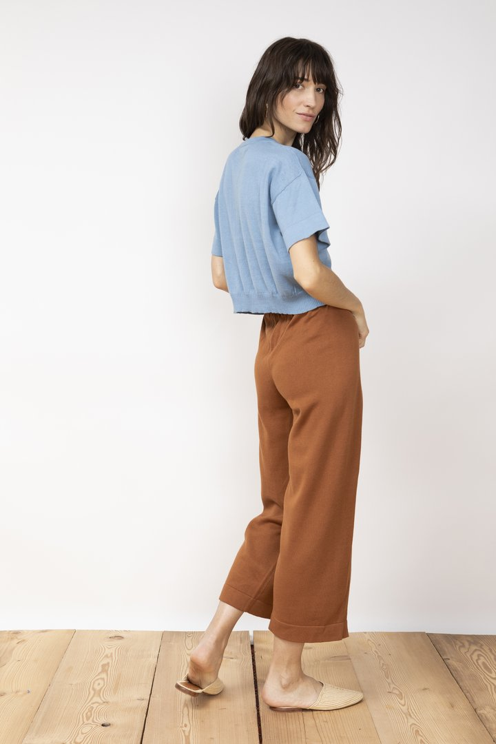 Knit trousers villa