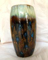 Vase – brun/blå  2