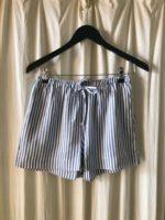 Saga shorts blå