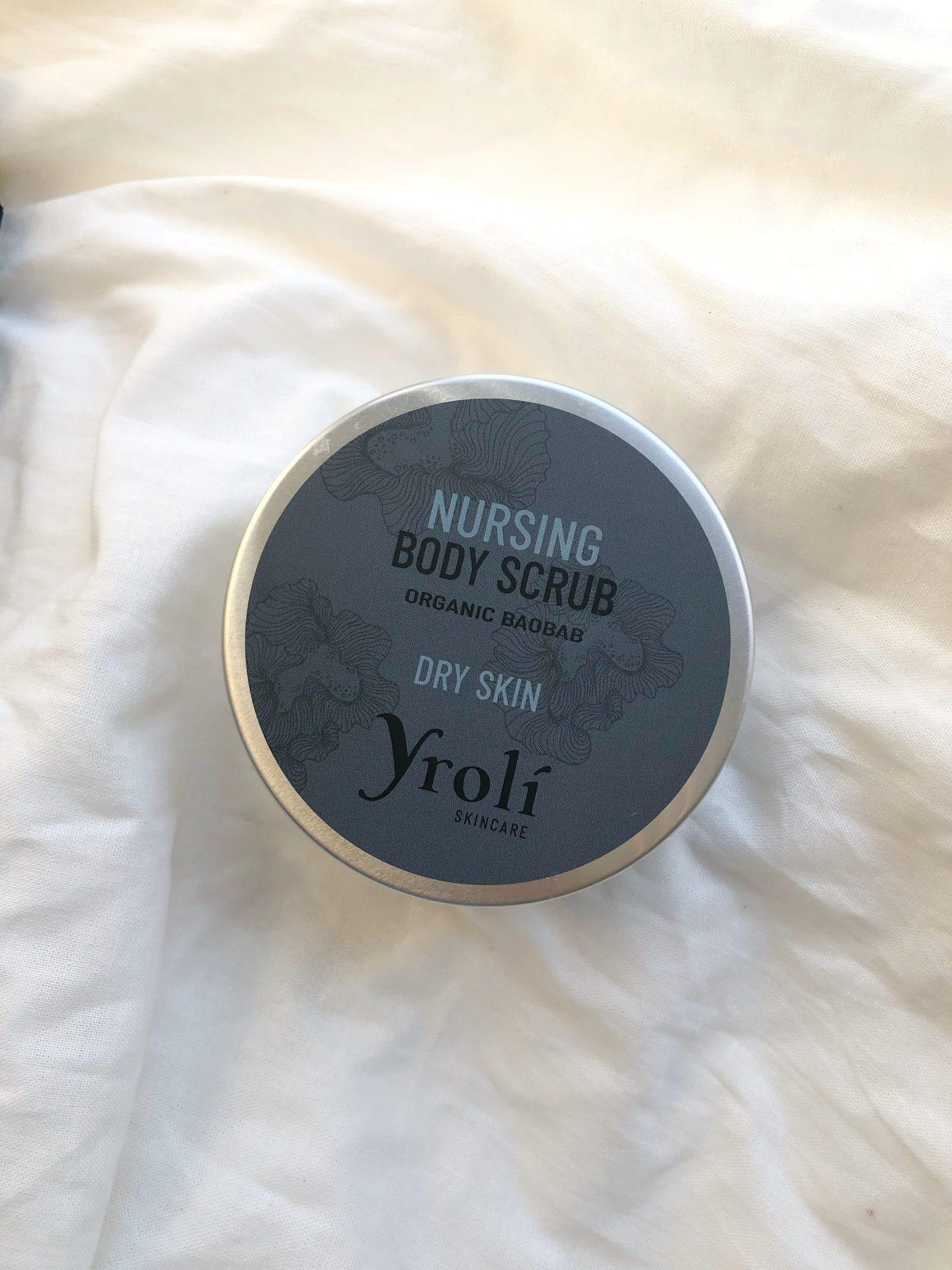 Nursing body scrub